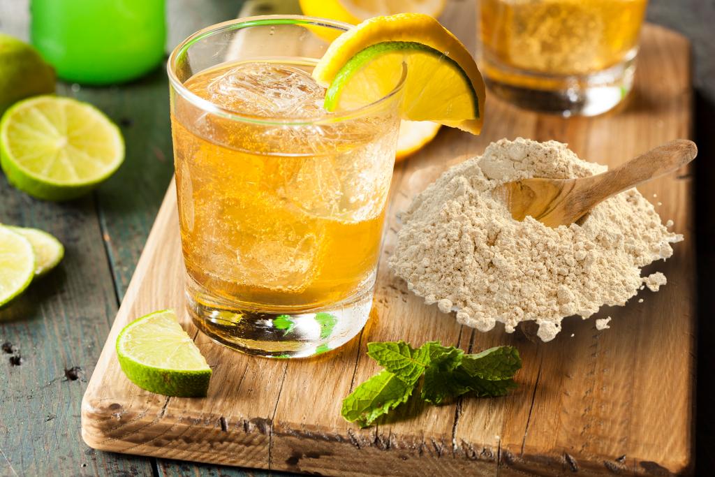 Ashwagandha Tonic Water als Erfrischungsgetränk